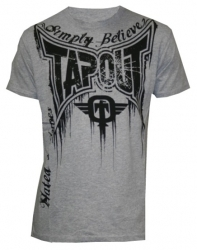 TapouT Train Or Die Heather Grey t-shirt