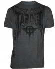 TapouT Train Or Die Heather Charcoal t-shirt