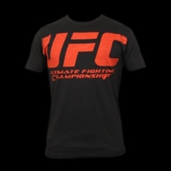 UFC Build Black/Red tee