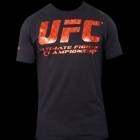 UFC Cage Black/Red tee