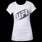 UFC Ladies Scratch White tee