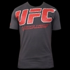 UFC Raised Cage Grey tee