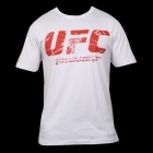 UFC Shatter White/Red tee