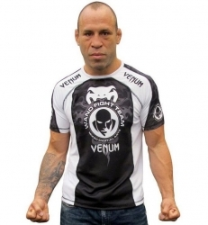 "Venum Wanderlei Silva ""UFC 147 Walk-Out"" T-shirt Black/White"