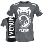 "Venum Wand Team ""Shockwave"" T-shirt Grey/Black"
